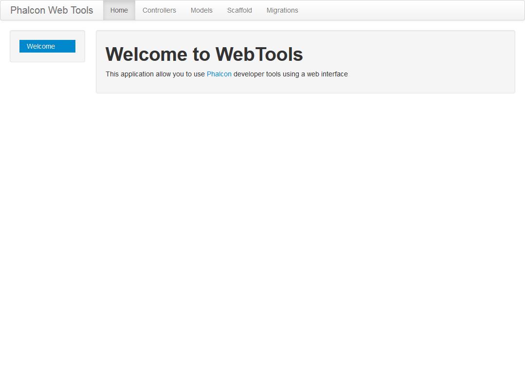 phalcon web tools